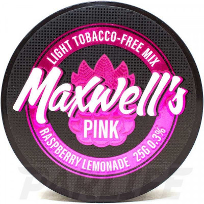 Бестабачная кальянная смесь MAXWELLS - Pink 25г (0.3%)